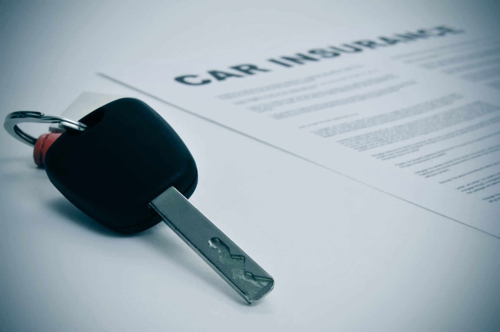 car insurance policy key