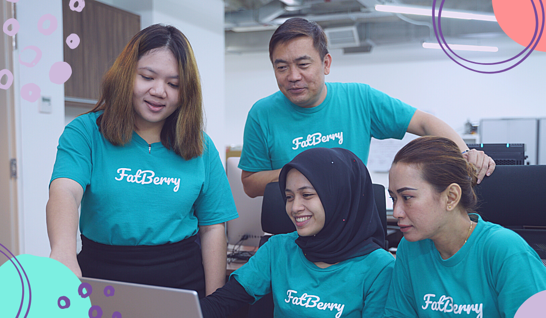 The FatBerry team at work. Image credit: SmallCaps.com