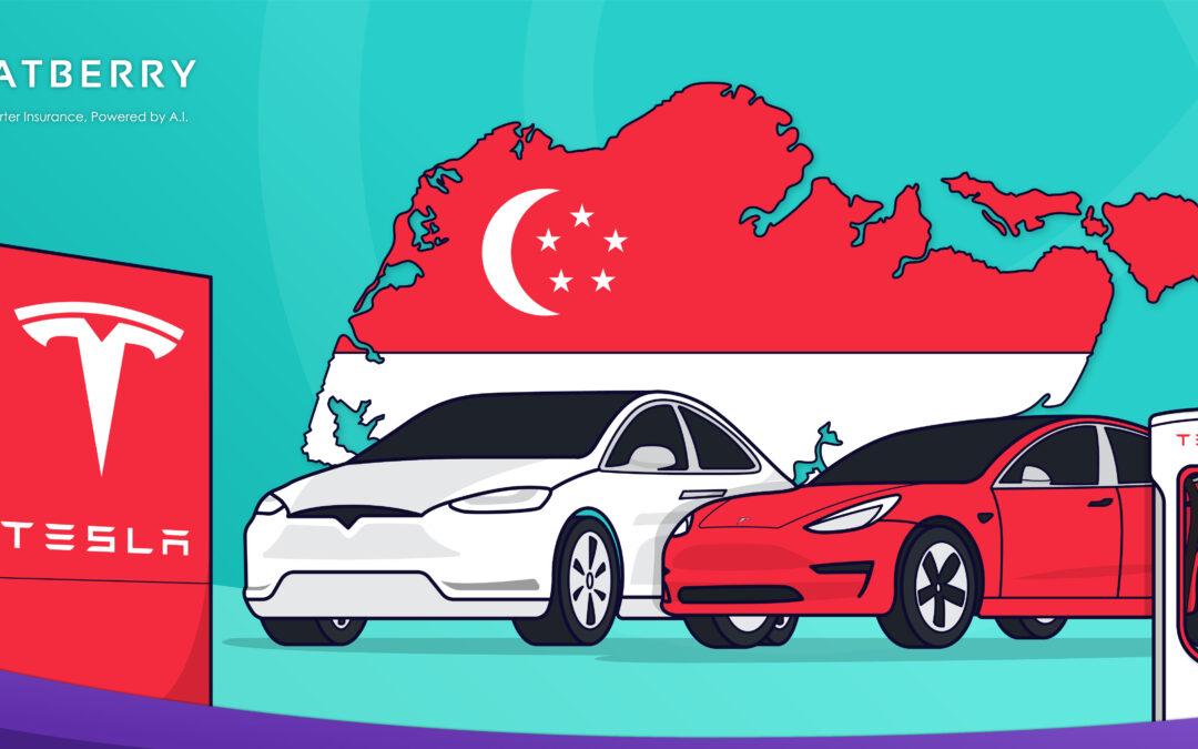 Tesla di Singapura